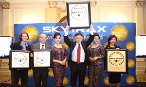 Singapore Airlines Voted World's Best Airline at Skytrax Awards
