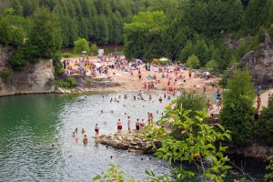 The top 5 quarries and swimming holes near Toronto
