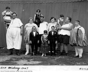 Freak shows and other long-gone acts from the CNE