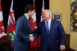 Trudeau not getting involved in Toronto city council controversy