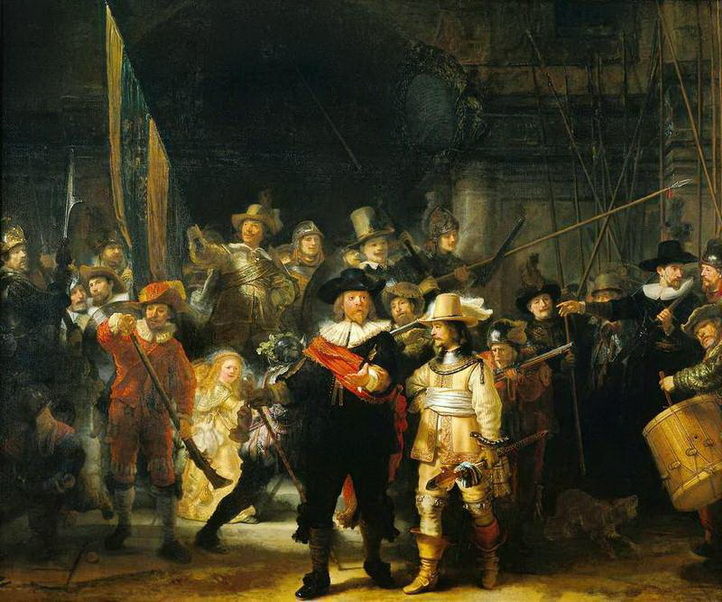 The Night Watch by Rembrandt is not actually called The Night Watch