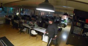 A mystery burglar is stealing Macs from offices in Toronto
