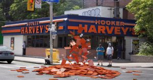 Toronto's infamous Hooker Harvey's just got a new tribute