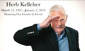 Herb Kelleher, Founder of Southwest Airlines, Has Died