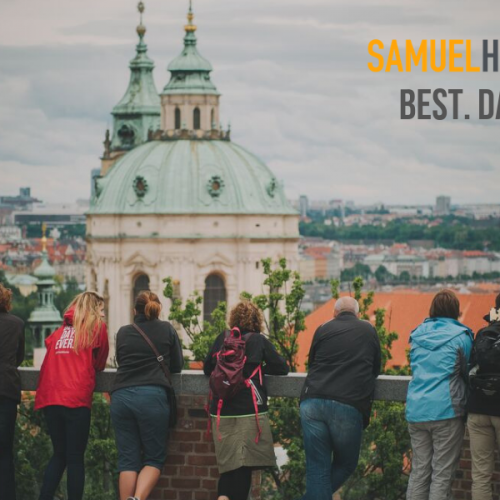 Walk Prague's Old Town with Samuel Hubbard shoes