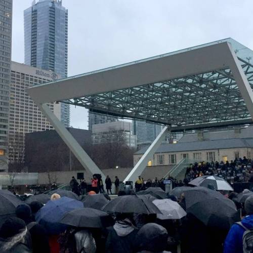 Hundreds gathered at Toronto vigil for New Zealand mosque attack victims