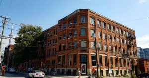 Toronto's historic Coffin Factory is getting a funeral