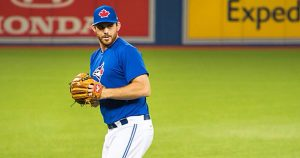 Toronto Blue Jays player finds out about trade in Shoppers Drug Mart
