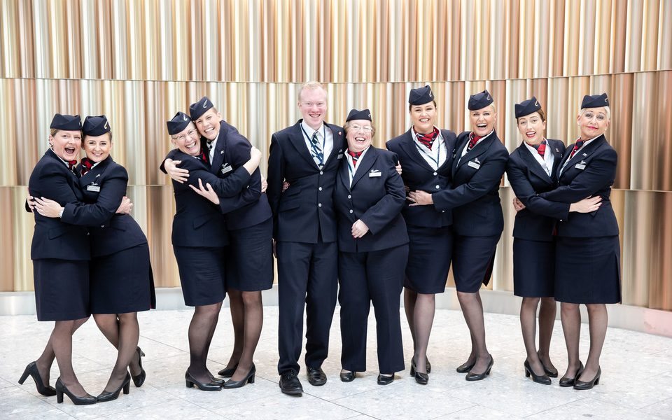 British Airways Operates Unique Flight for Mothers Day