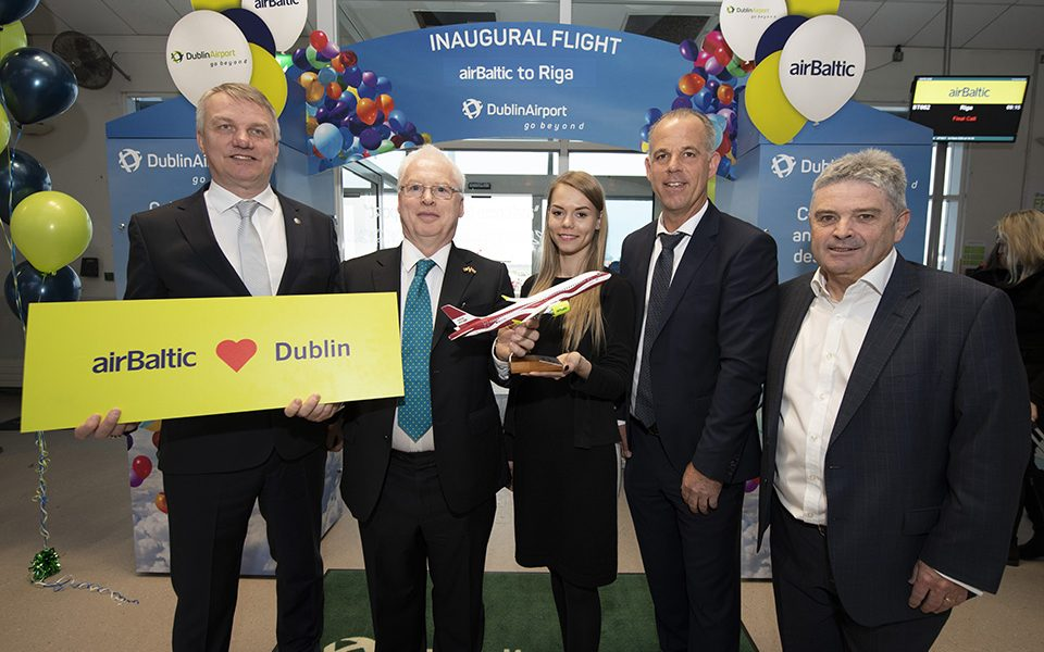 airBaltic Launches New Dublin to Riga Service