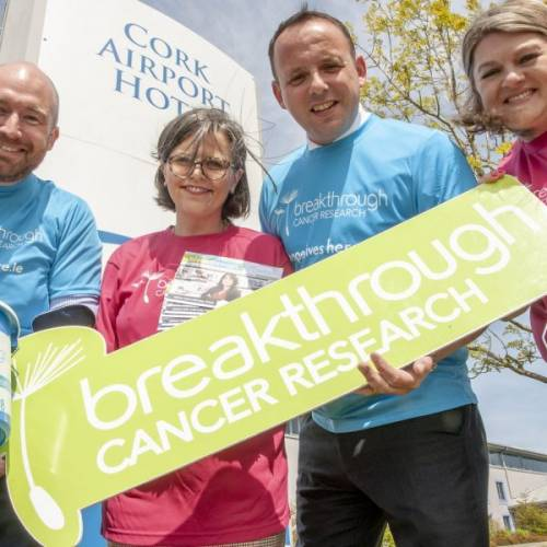 Cork Airport Hotel Selects Breakthrough Cancer Research as Charity Partner