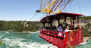 This cable car has been giving epic rides at Niagara Falls for over a century