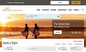 Etihad Refreshes Website with Faster Loading Pages
