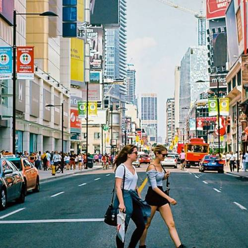 Yonge Street in downtown Toronto could eventually be car-free
