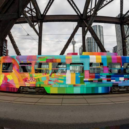 The colourful streetcar named Toronto is the city's favourite new commute