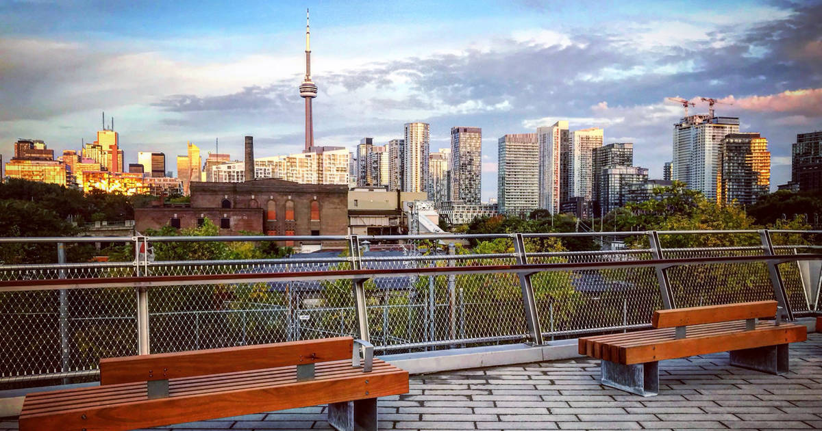 Toronto's newest bridge has one of the best views of the city