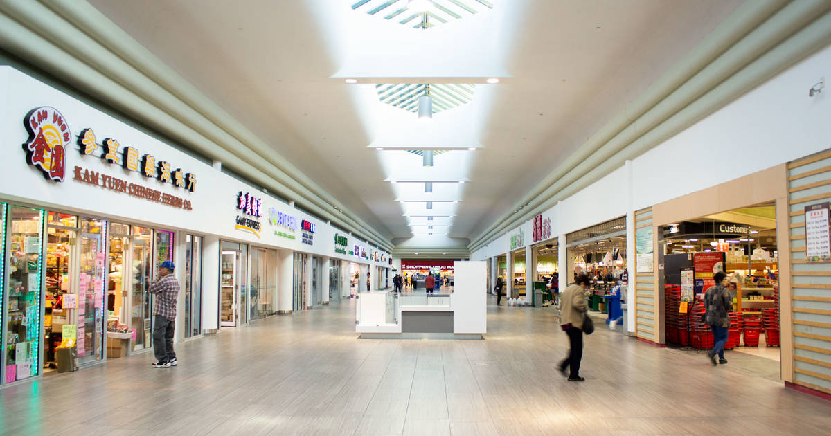 This is the mall that's replaced Market Village