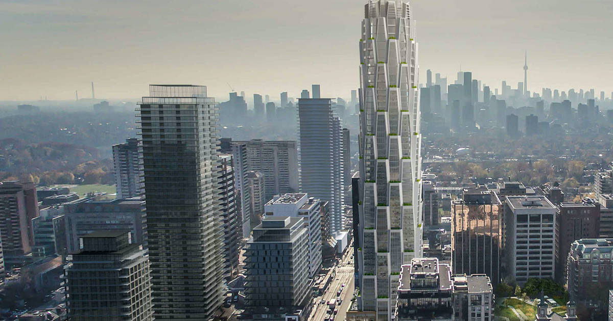 This is what the newest condo in midtown Toronto will look like