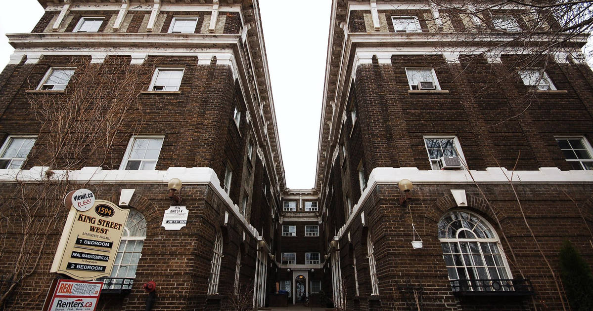 The cost to rent an apartment in Toronto is up 16% since last year