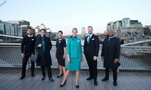 Aer Lingus Unveils New Uniforms at CHQ in Dublin