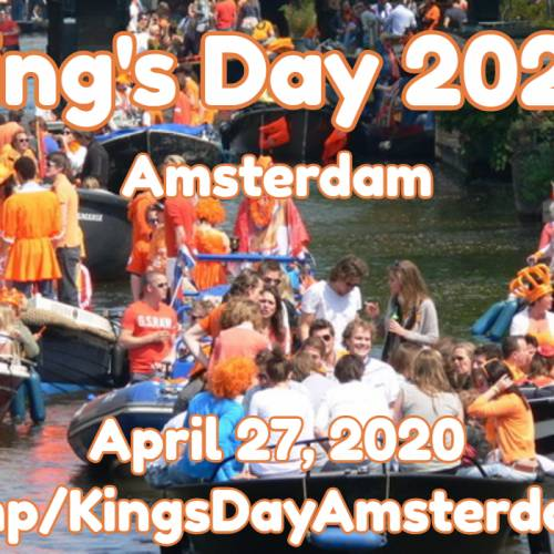Amsterdam King's Day 2020: All-Day Citywide Street Party