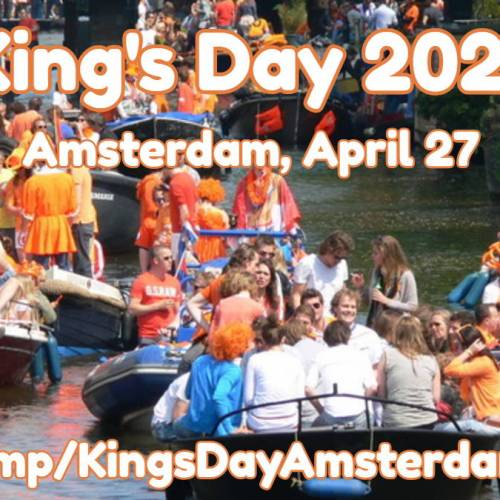 Amsterdam King's Day 2021: All-Day Citywide Street Party
