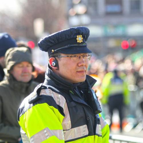 Eighty per cent agree  new legislation that gives the Gardaí additional powers of enforcement.
