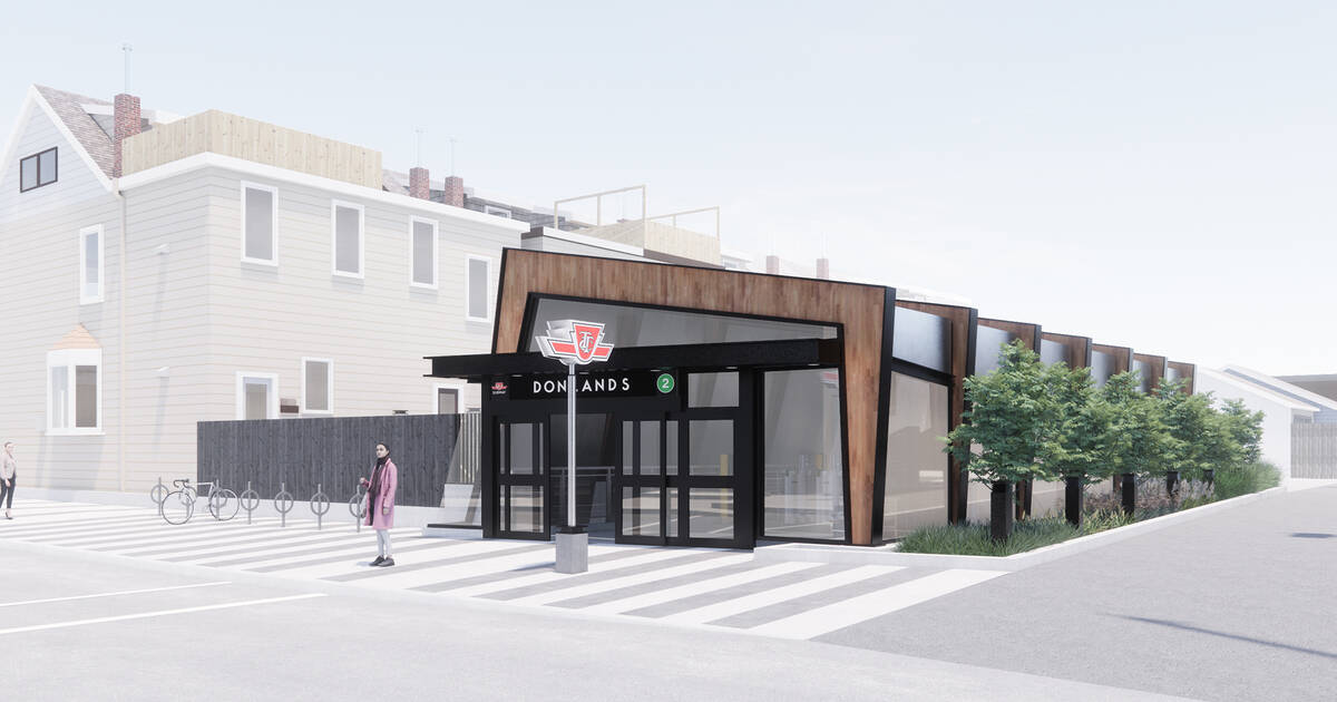 The TTC is giving Donlands Station a major makeover