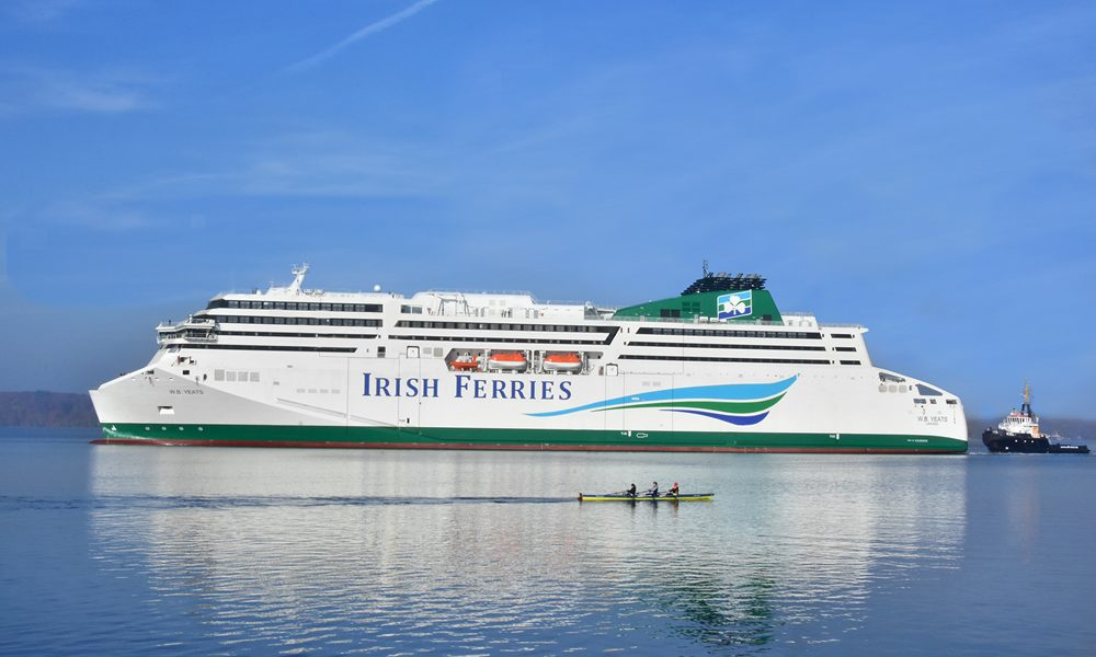 Irish Ferries launches Summer '21 schedule to France with FREE Flexibility on all bookings