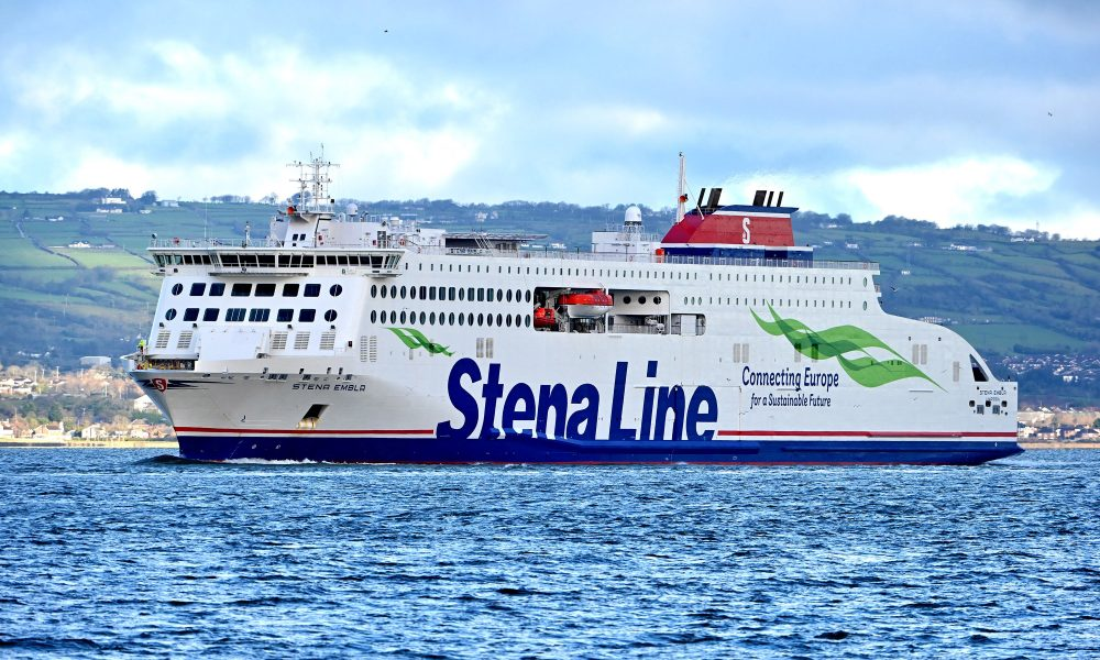 Stena Line's newest ship arrives in Belfast