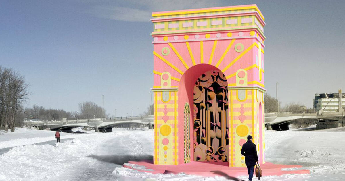 Toronto's waterfront is getting a beautiful pastel arch that will transport you to other worlds