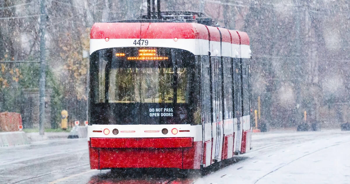 Toronto is about to be blasted with up to 10 cm of snow