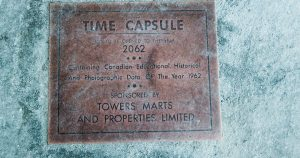 People in Toronto wondering what's inside 1962 time capsule outside a Loblaws