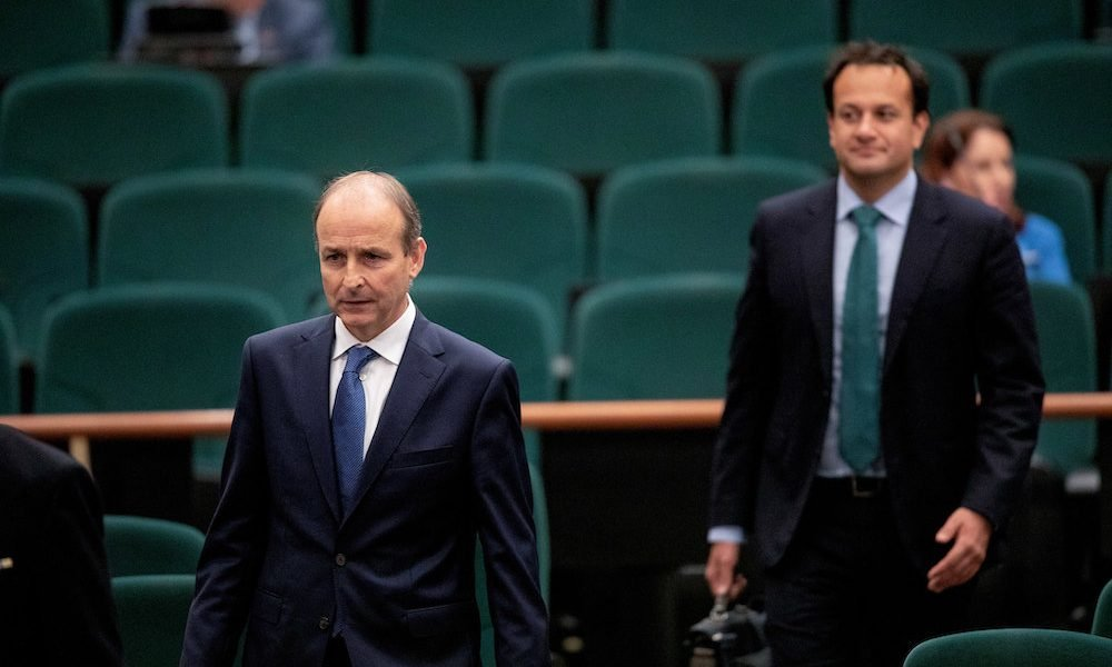 Micheál Martin Raises Possibility International Travel Could Resume in July