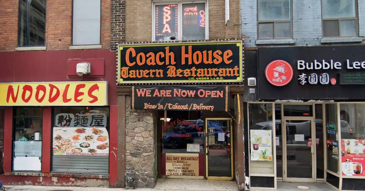 Their doors may be shut but Coach House Restaurant is still very much in business