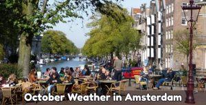 Amsterdam weather in October