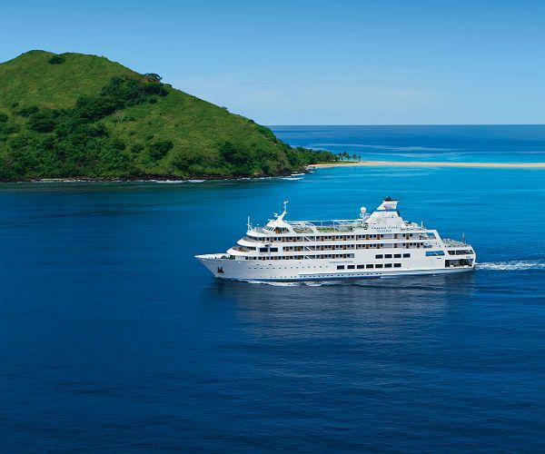 The most effective cruise across the Fiji islands