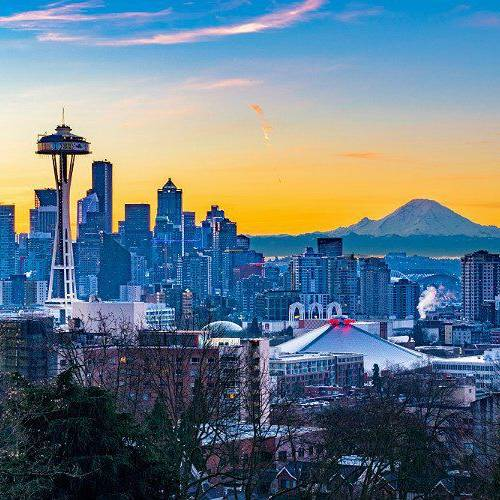 eight city adventures to pattern in Seattle