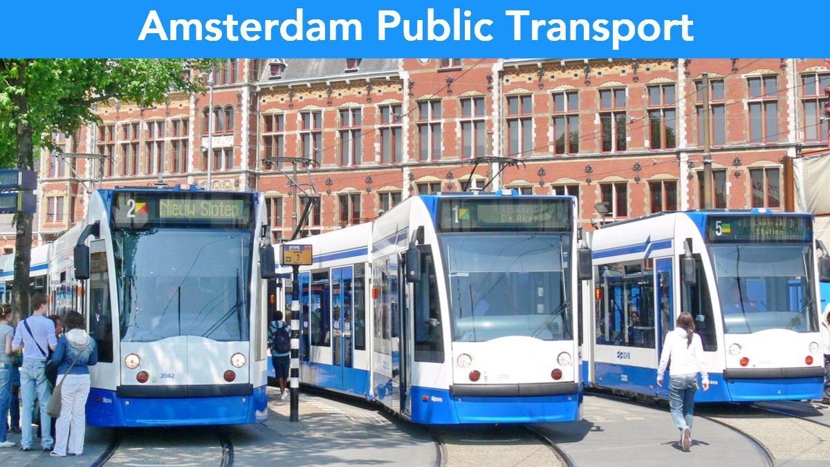 Amsterdam Public Transport Guide and Tickets