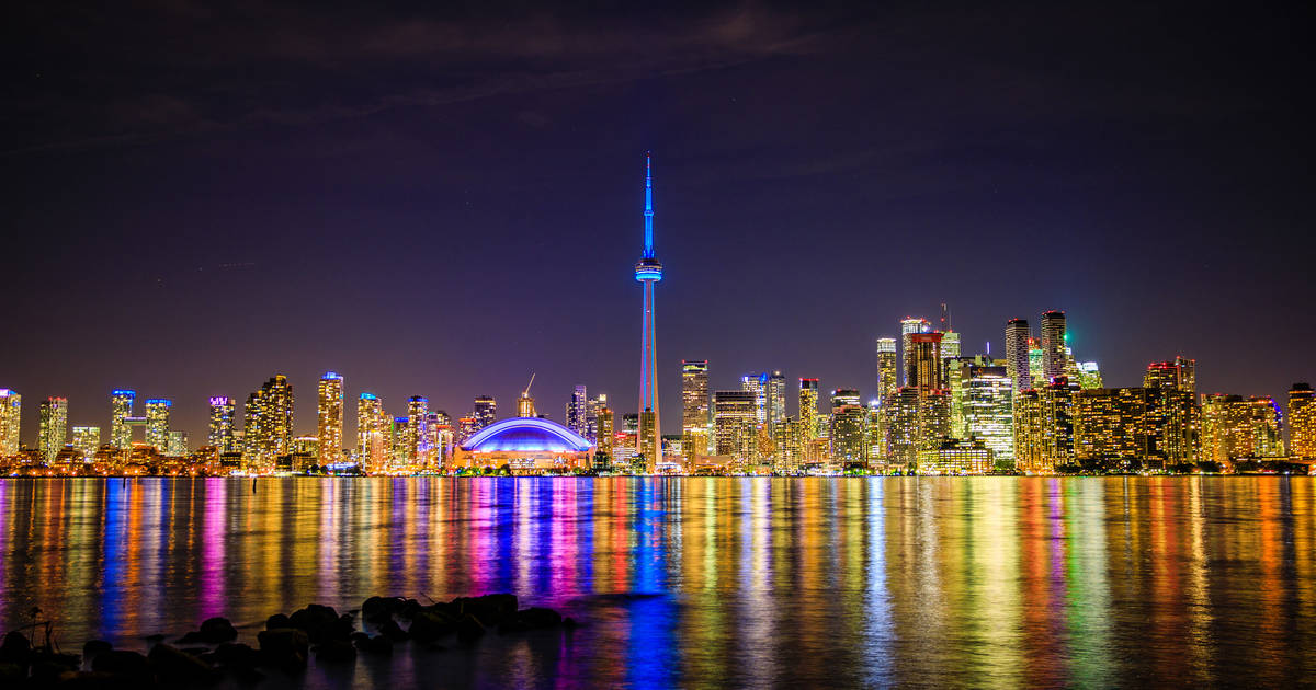 How to watch the CN Tower light show on Canada Day