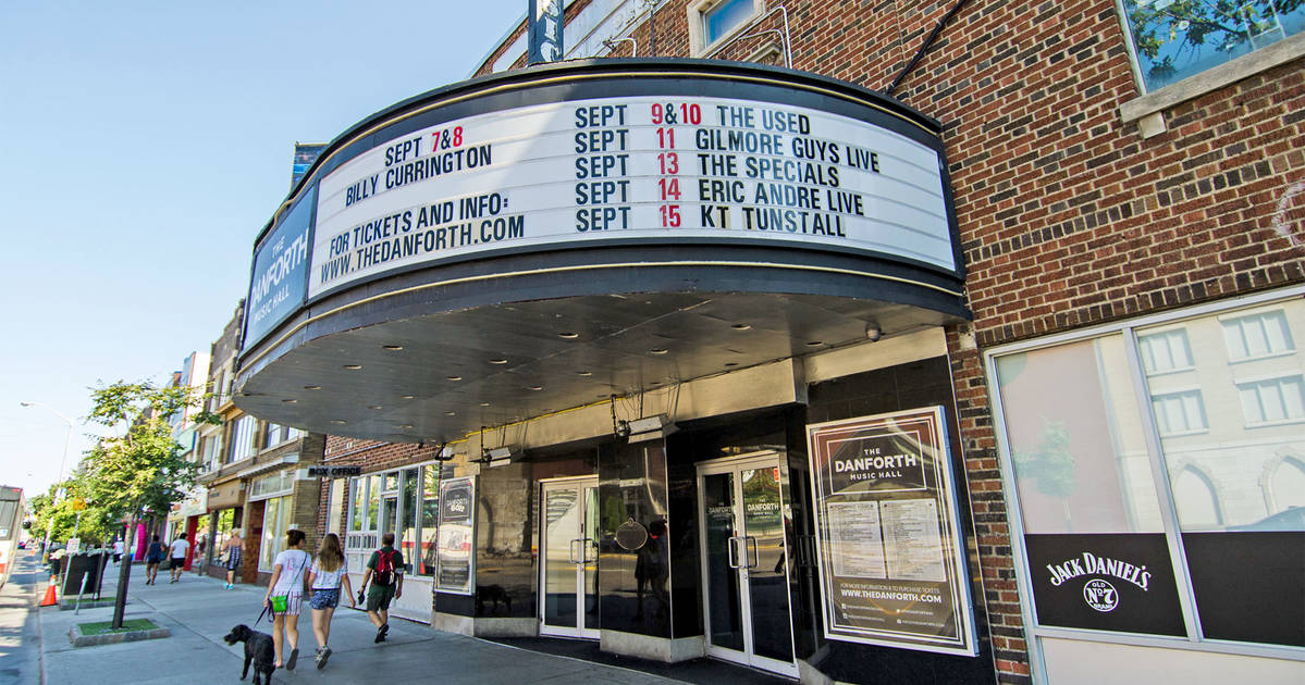 The history of the Danforth Music Hall in Toronto