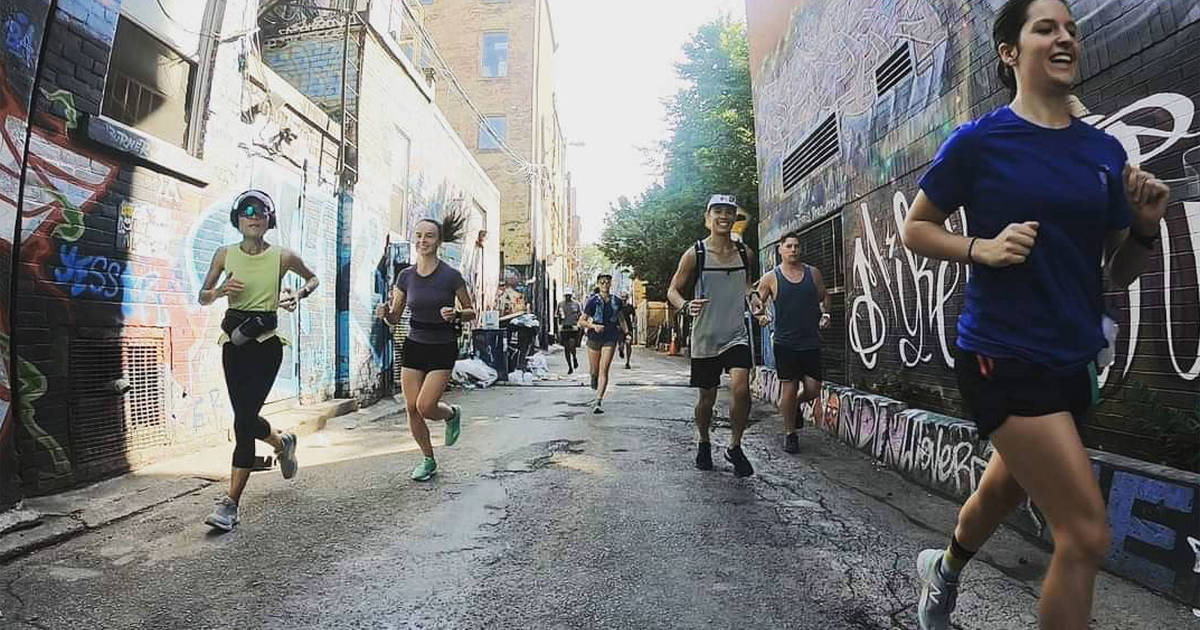 Outdoor running in Toronto is more popular than ever but groups still cautious