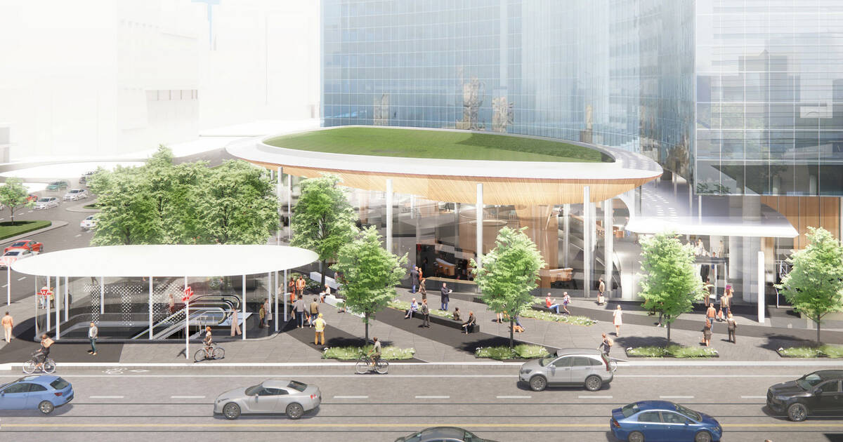 Huge tower and new subway entrance could soon transform Toronto intersection